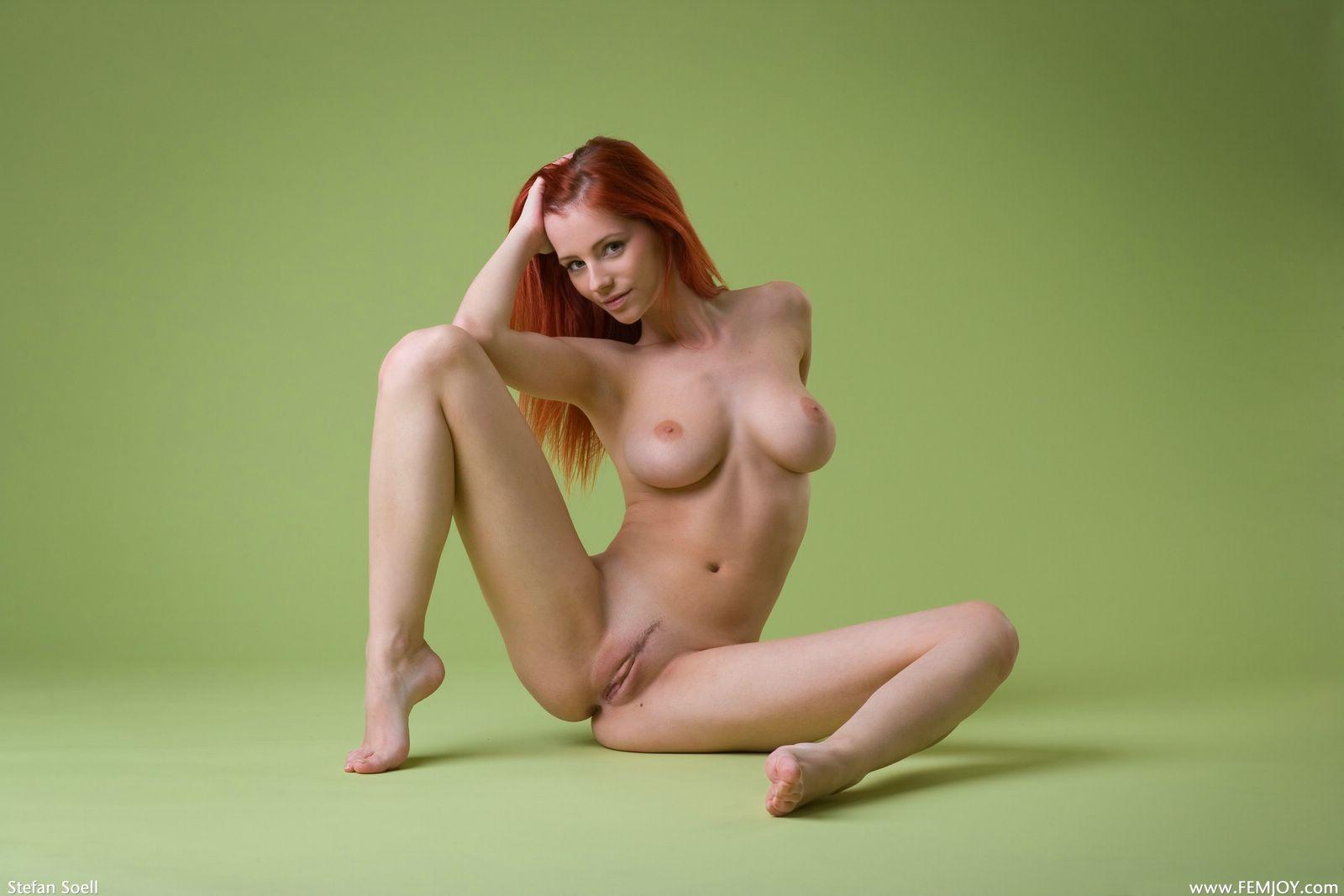 Рыжая русская красотка порно